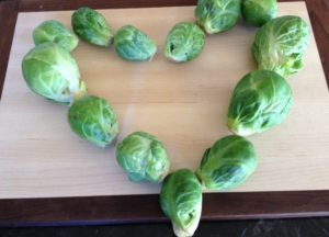 Brussels Sprouts Love - Spicy Roasted Brussels Sprouts Recipe