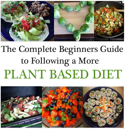 how to eat a plant based diet