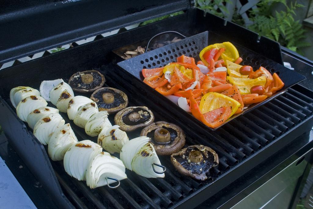 Grilling ideas - veggies, meats, fruits