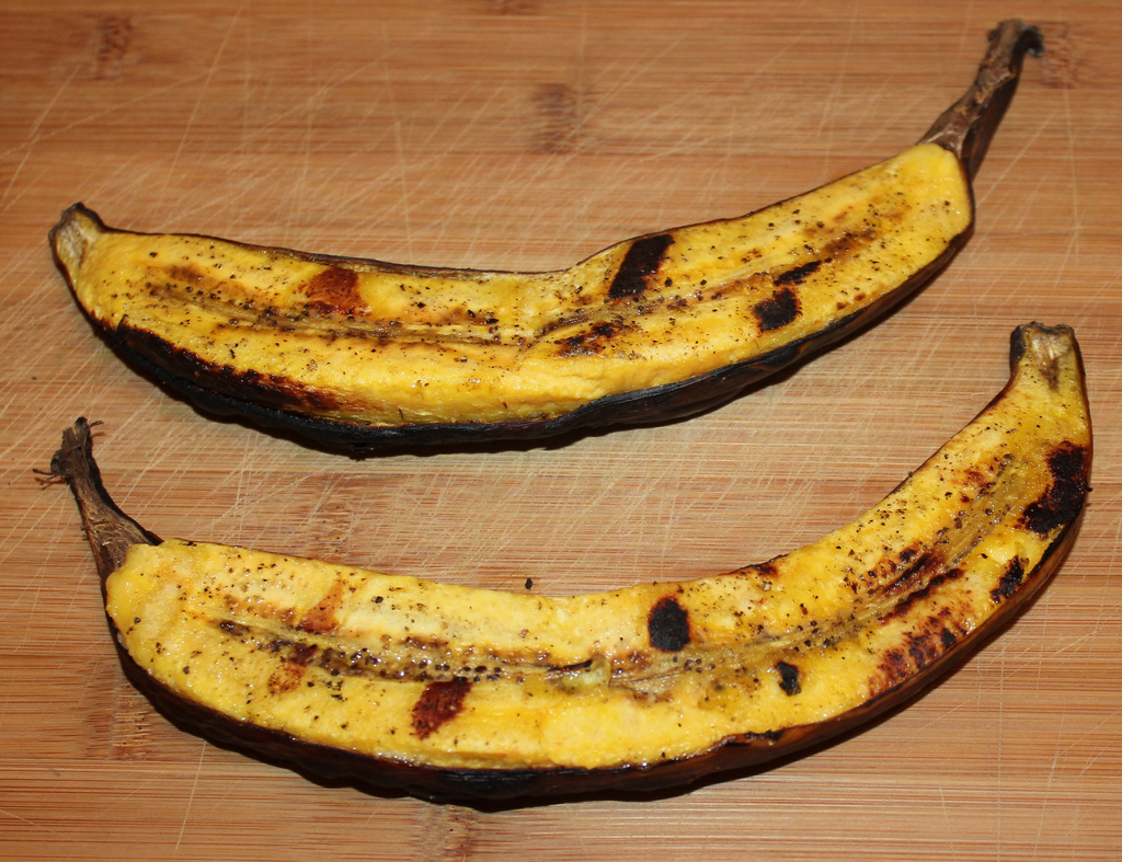 Grilling ideas - plantains