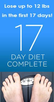 17 Day Diet - lose weight the healthy way! --- 17 day diet