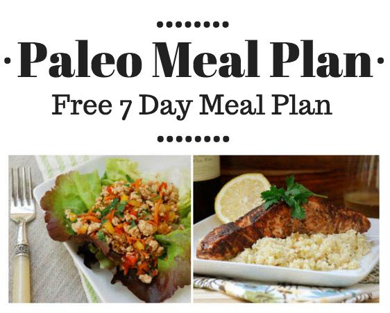 Free Paleo Meal Plan - free 7 day meal plan, clean eating