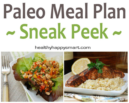 Free Paleo Meal Plan • 7 Day Meal Plan + Shopping List
