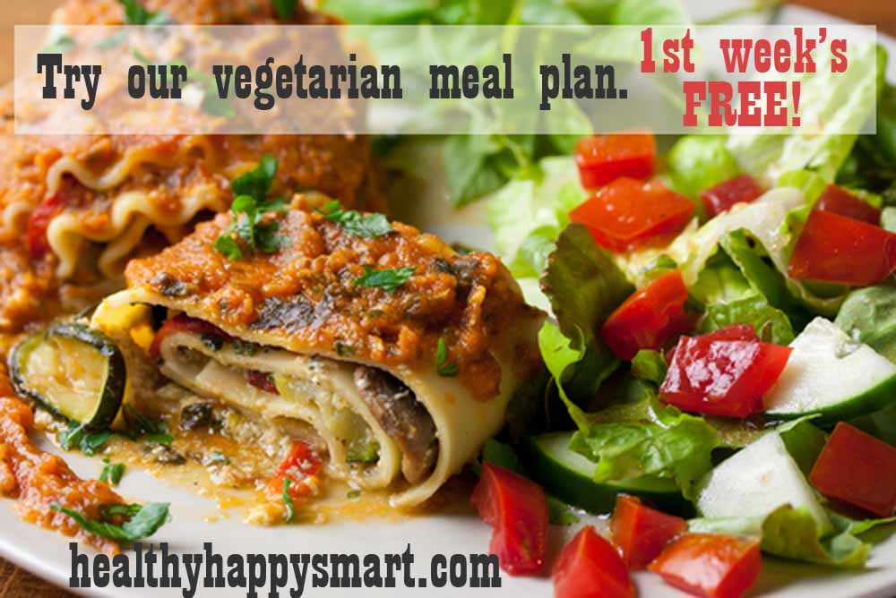 Vegetarian Meal Plan O 7 Day Recipes Shopping List
