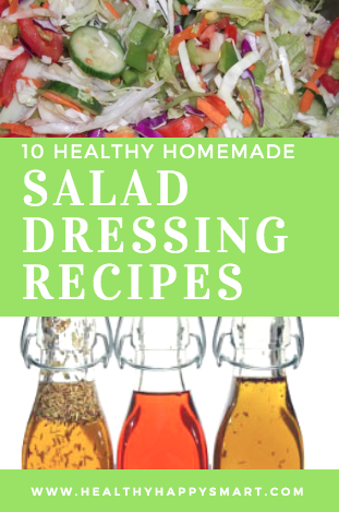 Healthy Homemade Salad Dressing Recipes - it's so easy to make your own, so why not skip the junk in store bought and make your own. Make the good stuff right at home! clean eating dressing. Simple homemade dressing.