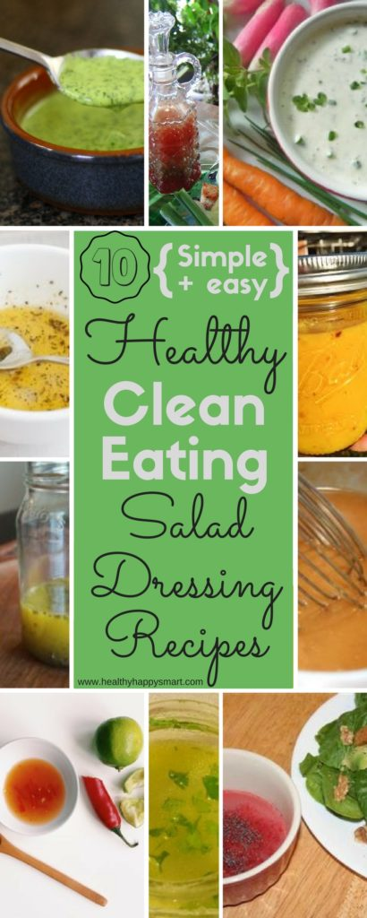 Healthy salad dressing recipe ideas. Clean Eating Salad Dressing. Simple homemade dressing.