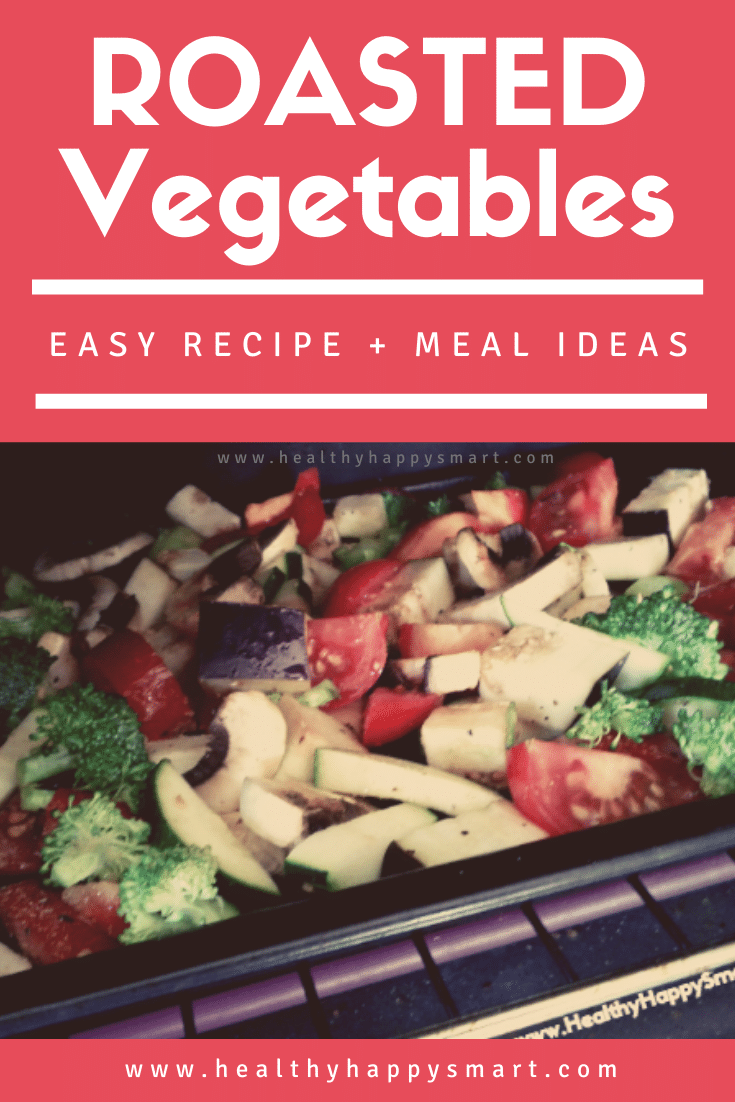 Roasted vegetables, easy to make recipe.
