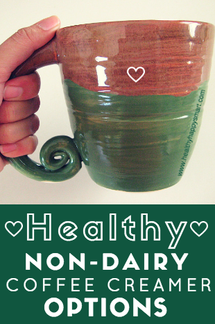 Healthy Non Dairy Creamer Options - coconut based, vegan, paleo, eat clean, clean eating, keto - The best non dairy creamer options out there. Paleo Coffee creamer!