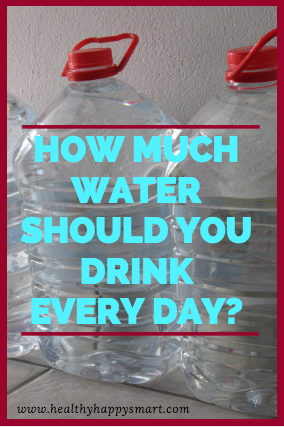 How much water should you drink every day? Stay hydrated. Personalized water bottles can motivate you, too! :)