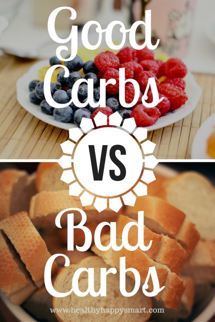 Good Carbs vs Bad Carbs - a healthy guide to carbohydrates