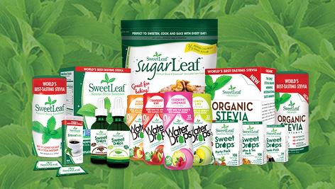 SweetLeaf Stevia in liquid or powder form