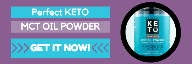 Perfect Keto - best MCT oil powder - what is it and why use it? My review.
