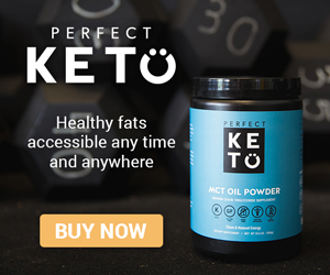Perfect Keto best MCT Oil Powder