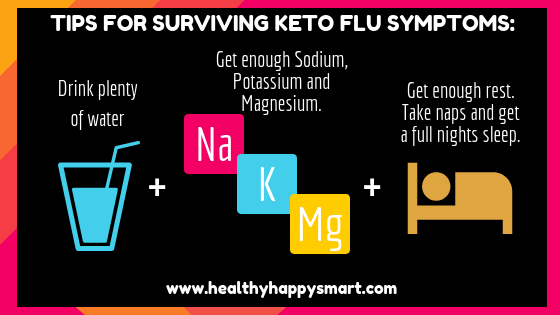 tips for surviving keto flu symptoms