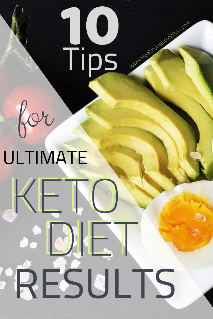 Ultimate keto diet results - tips for success on a keto diet. Stick to your keto diet and succeed, be motivated and reach your goals.