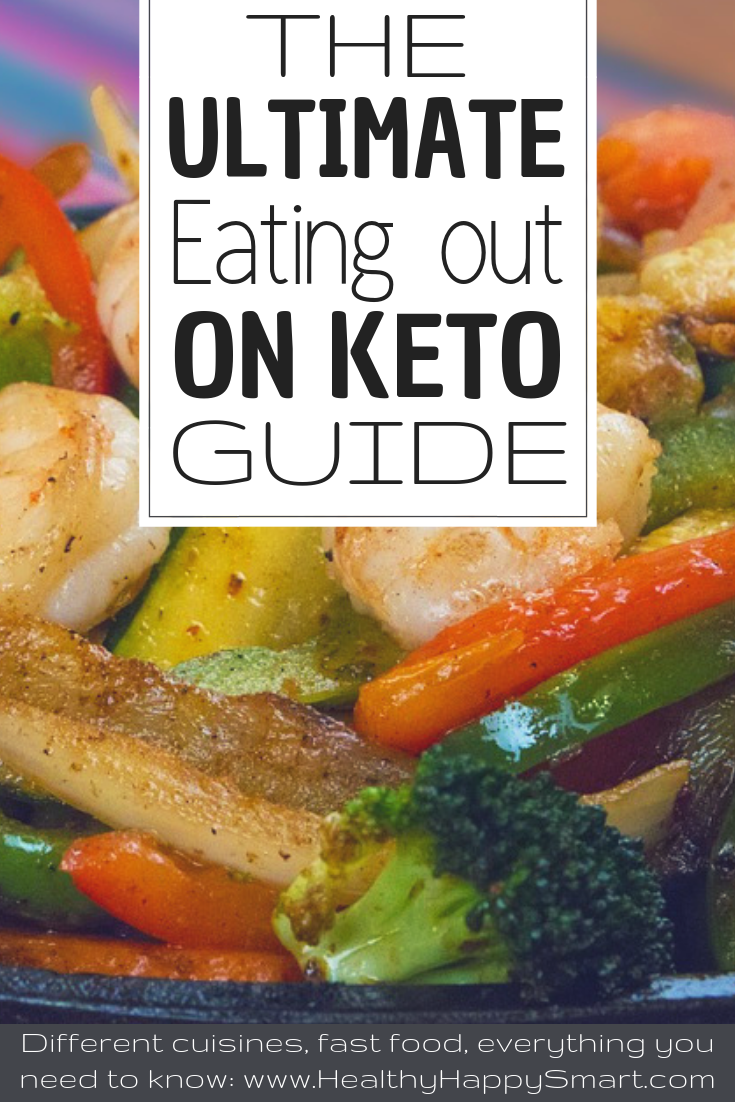 eating out on keto food