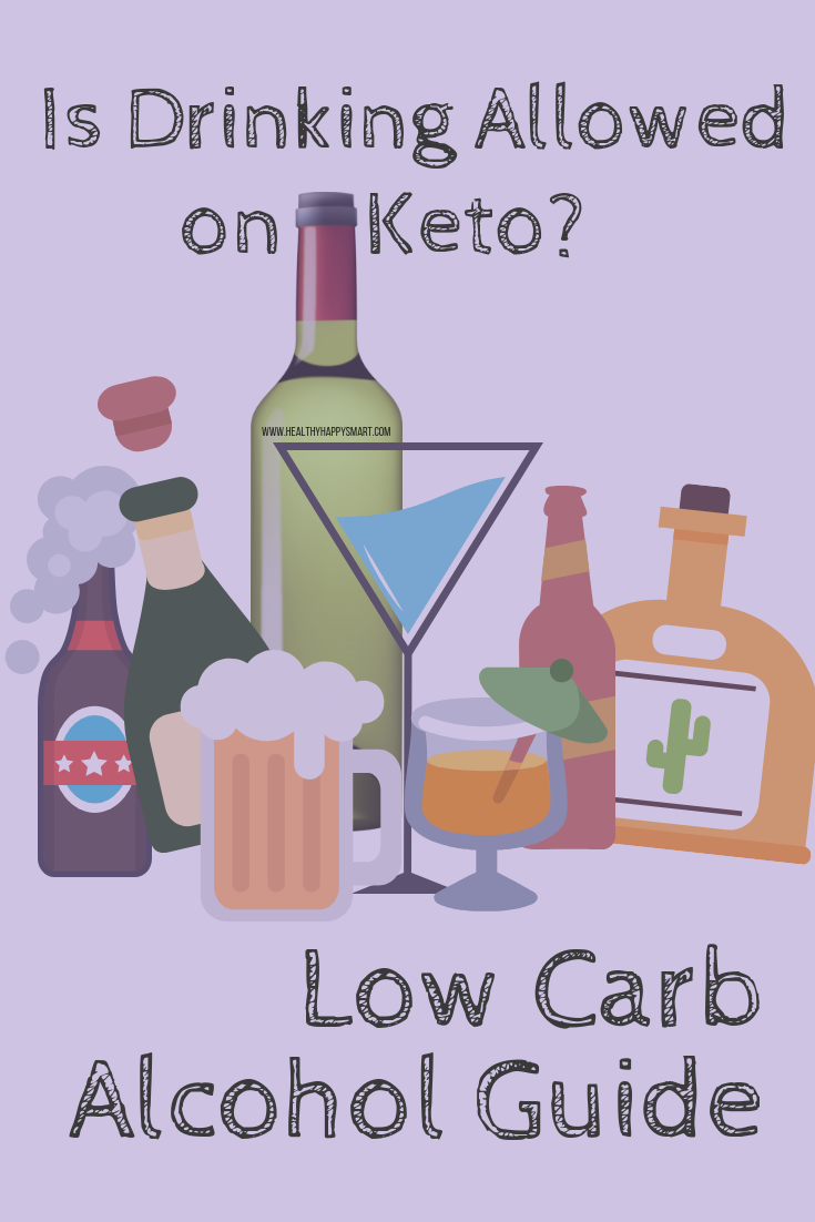 Low carb alcohol guide - drinking on keto? #KetoDiet #Keto #Ketogenic #LCHF