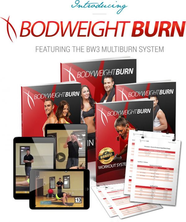 bodyweight burn workout, exercise routine, 21 minute workout