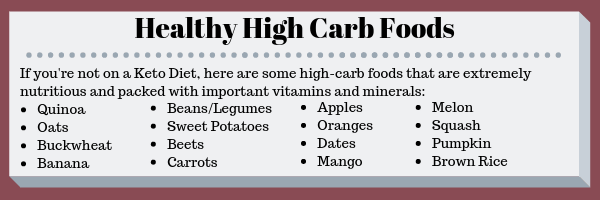 Healthy High Carb Foods