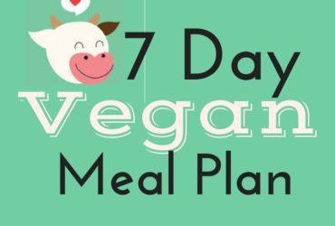 7 Day Tasty + Healthy Vegan Meal Plan • Plant Based Eating