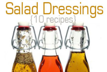 Clean Eating Salad Dressing Recipes – Simple Homemade Dressing