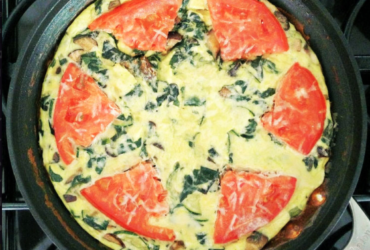 Anytime Veggie Frittata – Breakfast, Lunch or Dinner Recipe