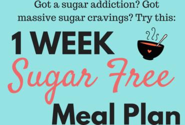 Sugar Free Diet Plan – Simple 1 week meal plan PDF