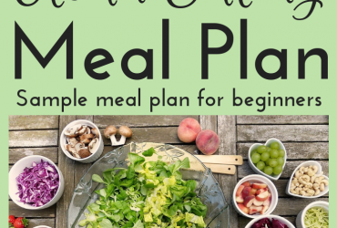 Clean Eating Meal Plan Sample • Learn to eat clean daily