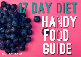 17 Day Diet cycle 1, cycle 2 & cycle 3 Foods List
