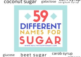 What is Sugar? 59 Other Names for Sugar