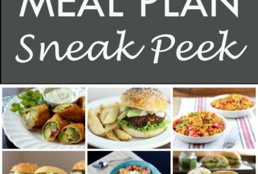 Vegetarian Meal Plan • 7 Day Meal Plan