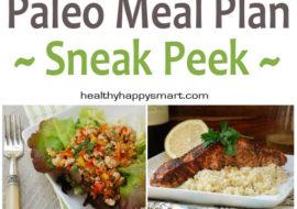Free Paleo Meal Plan • 7 Day Meal Plan