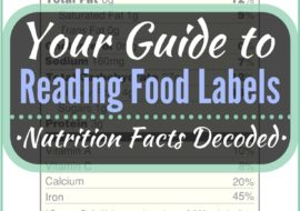 How to Read Food Labels + Nutrition Facts
